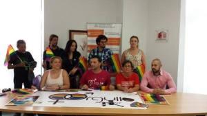 Rueda de prensa para presentar los actos con motivo del Orgullo LGTBI